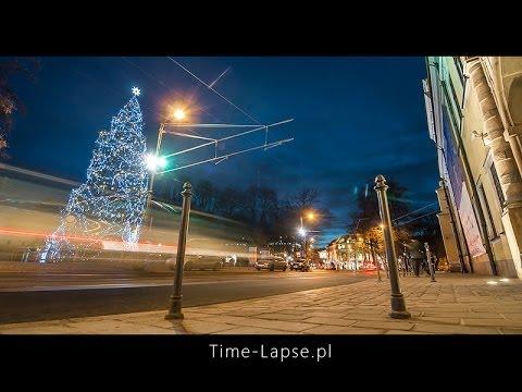 Świąteczny Kraków / Krakow around Christmas [time-lapse] 1080p Full HD