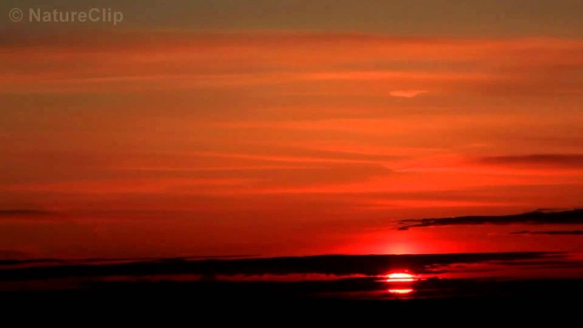 FREE Time Lapse HD stock footage: Sunset in 1080p HD CC-By NatureClip